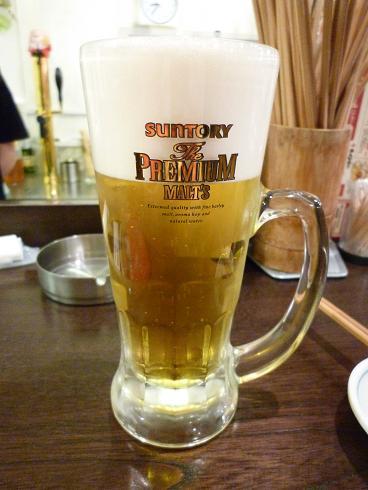 『金町製麺』 ザ・プレミアム・モルツ(400円)