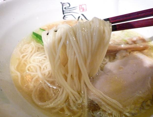 『鳥八(とりや)』 鶏塩支那そば(ランチ・麺リフト)