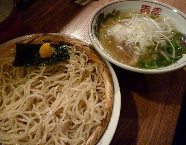 『やき鳥 まさ吉』 つけ麺(塩)