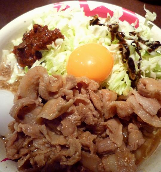 『麺屋武蔵 武仁』 アキバカリー麺(アップ)