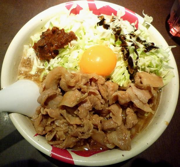 『麺屋武蔵 武仁』 アキバカリー麺(1000円)