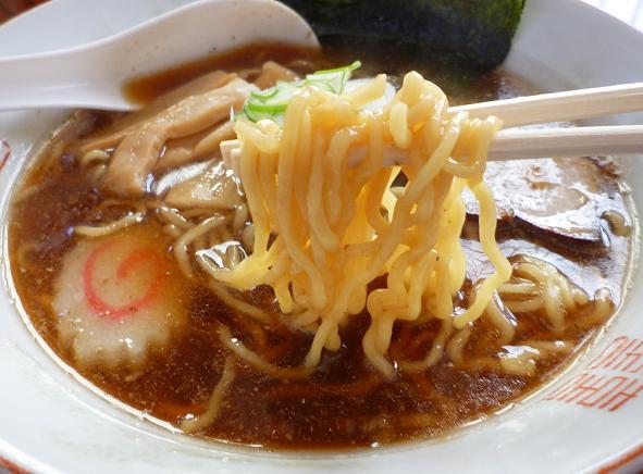 『中華そば あんどう亭』 中華そば(しょうゆ)麺リフト