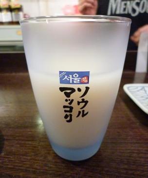 『金町製麺』 ソウルマッコリ