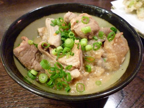 『金町製麺』 モツ煮(350円)