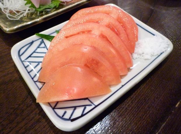 『金町製麺』 冷やしトマト(300円)