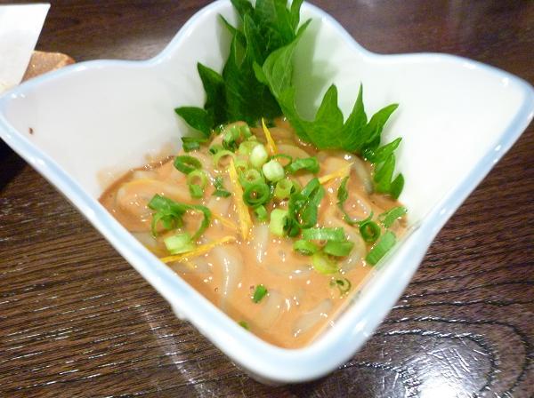 『金町製麺』 イカの塩辛(350円)