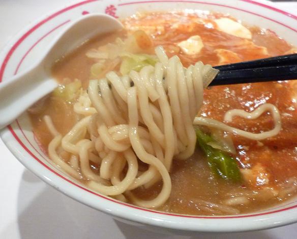 『蒙古タンメン中本 渋谷店』 蒙古タンメン(麺リフト)