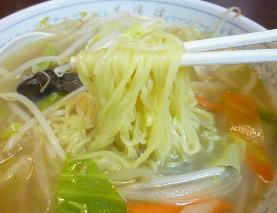 『中華料理 光陽楼』 タンメン(麺リフト)