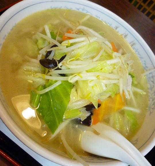 『中華料理 光陽楼』 タンメン(アップ)