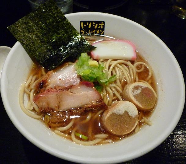 『トリシオブットイメン井の庄』 パキパキ中華そば(700円)