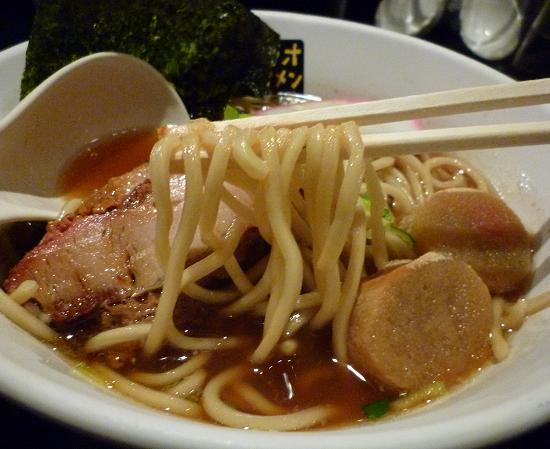 『トリシオブットイメン井の庄』 パキパキ中華そば(麺リフト)
