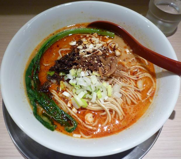 『麺や 七彩 東京ラーメンストリート店』 担々麺(900円)