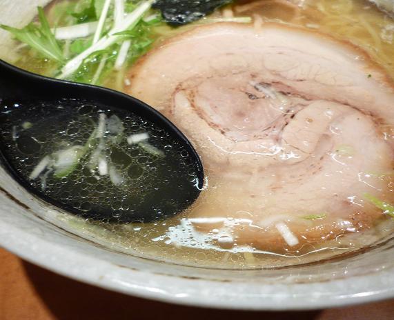 『中華蕎麦 つがい』 塩らーめん(スープ)