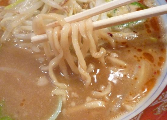 『旨辛ラーメン 味一』 鷹の爪ラーメン(麺リフト)