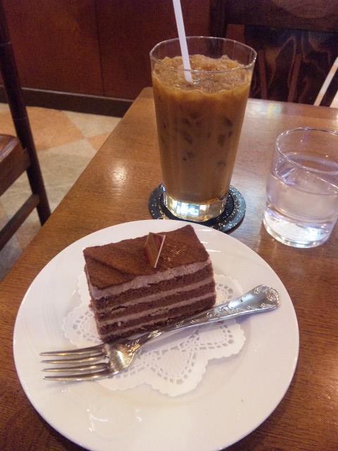 チョコケーキセット