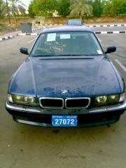 BMW 740i front