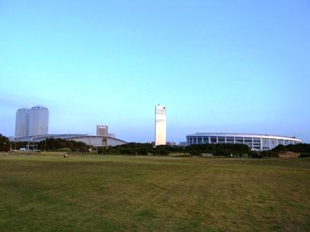 幕張海浜公園中央広場