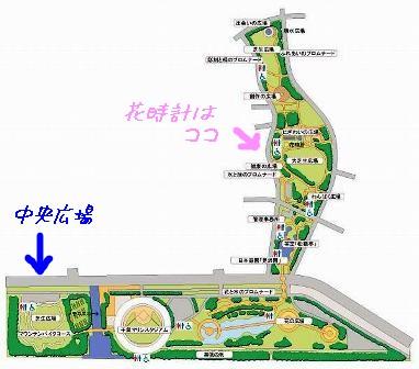 幕張海浜公園地図