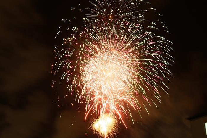 浦添運動公園の花火