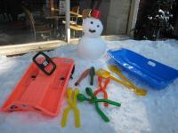 ミストラルの雪遊び道具