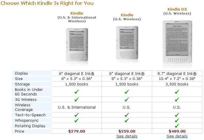 Kindle Comparison2