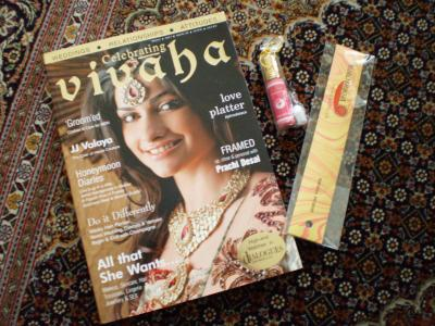 インドお香・雑誌