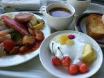 ウェルネスの森 バイキング朝食