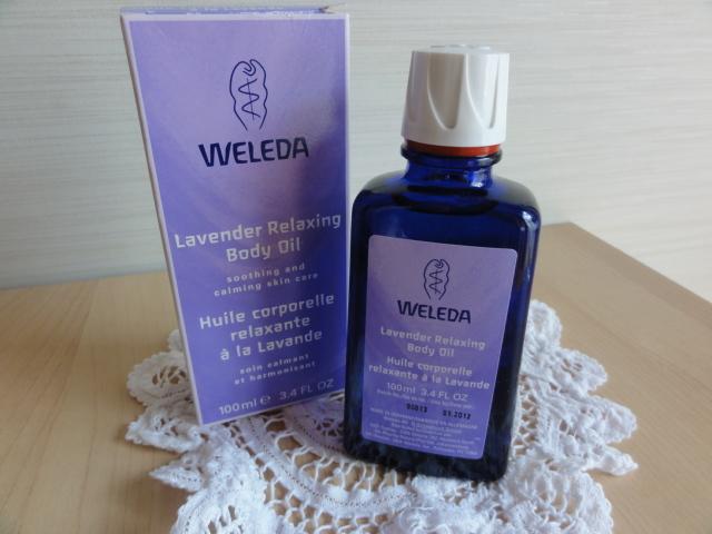 ヴェレダのラバンドオイル