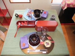 テーブル 091