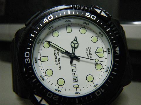 安物腕時計