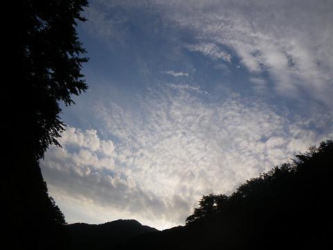 夕景の空100718