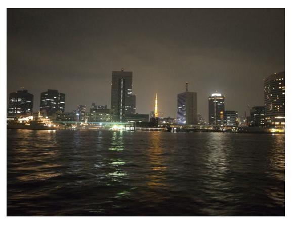 Tokyo Tower and Tokyo Bay