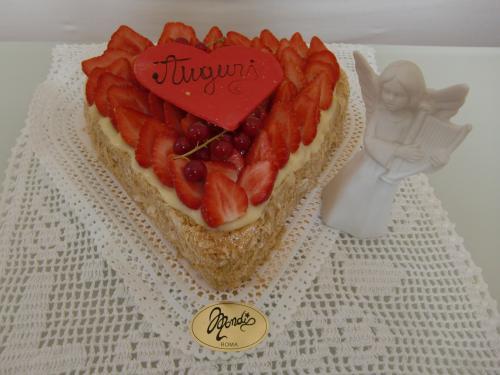 竜ケーキ天使