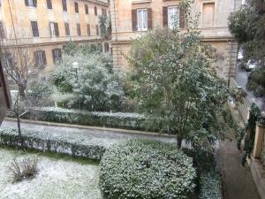 雪のローマ