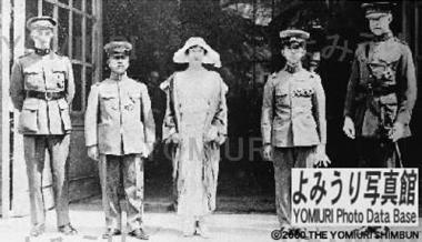 アルベール1世と裕仁皇太子殿下とブラバン皇太子