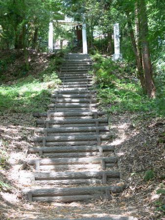 kouso鳥居前階段1
