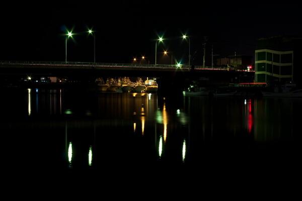 網走川 天然の良港