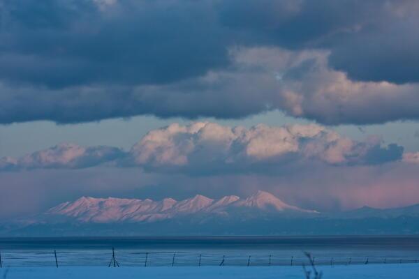 雪と雲の狭間
