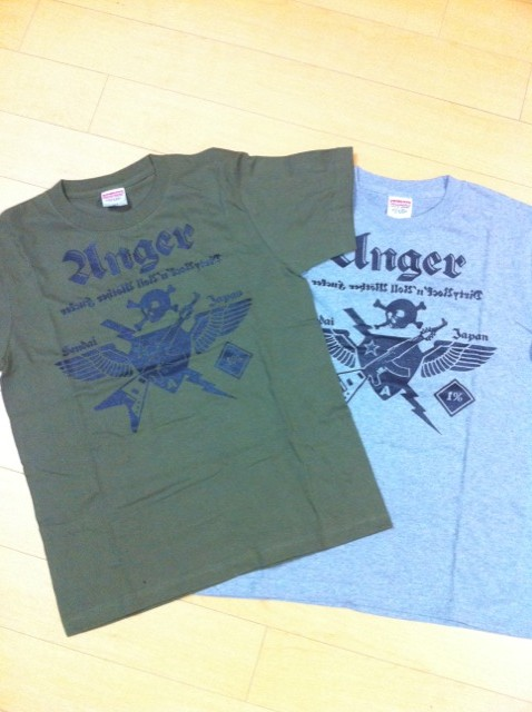 ANGER NEW LOGO T-SHIRT