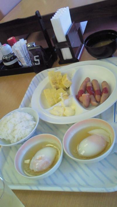 小澤の朝食