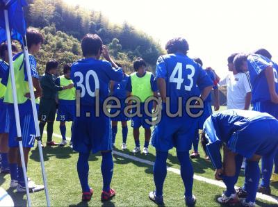 Iリーグ中国2010 vs広大/A(2010/9/18/土)「円陣」
