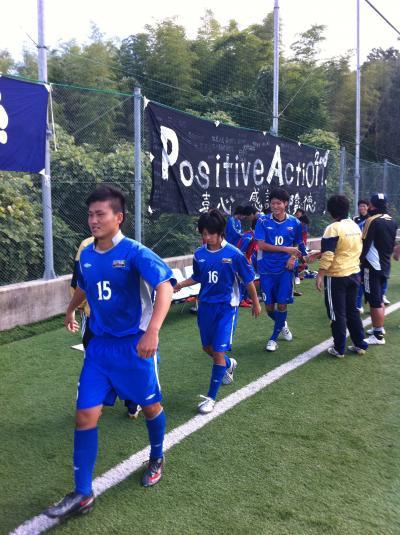 2010 中国L 第11節 vsIPU(10/10/日)「握手」
