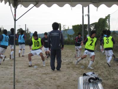 2009 Iリーグ 第10節 vs鳥取大学(ダッシュ風景)