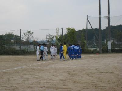 2009 Iリーグ 第10節 vs鳥取大学(キックオフ前 1)