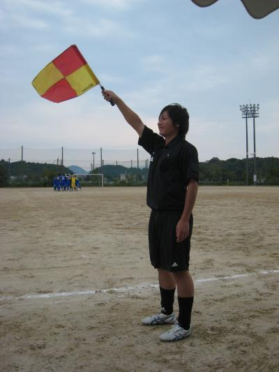 2009 Iリーグ 第10節 vs鳥取大学(縁の下の力持ち)