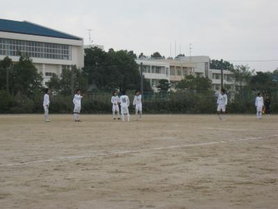2009 Iリーグ 第10節 vs鳥取大学(キックオフ前 2)