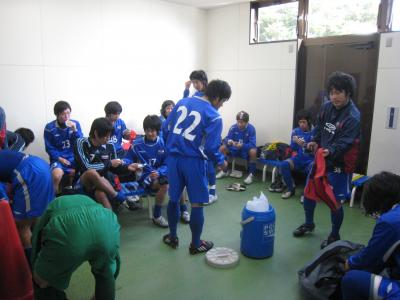 2009 Iリーグ 全国 1回戦(ロッカールーム)