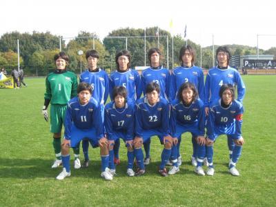 2009 Iリーグ 全国 1回戦(スタメン)