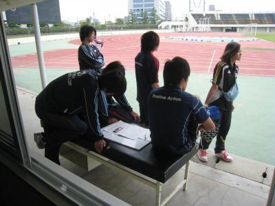 中国選手権2回戦 vs山口大学 2010/5/22/土「準備1」