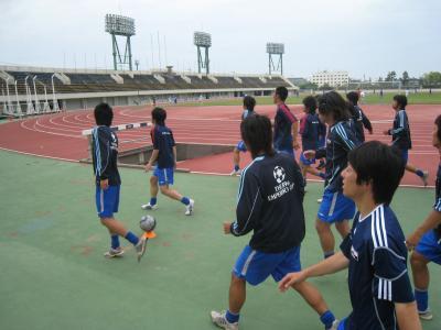 中国選手権2回戦 vs山口大学 2010/5/22/土「w-up」